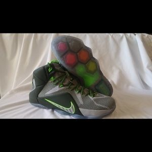 Mens Lebron 12.  Very lightly worn (2 times)
